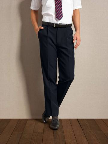 Men'S Polyester Long Leg Trousers