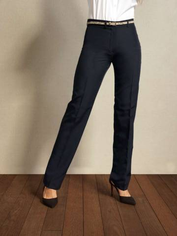 Ladies' Polyester Long Leg Trousers